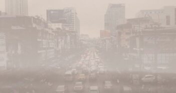 Smog-Warnung in Peking
