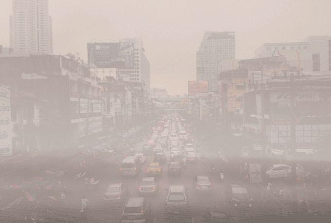 Smog-Warnung in Peking